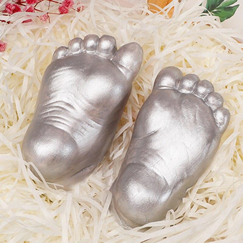3d Footprint Baby Hand Baby Handprint Plaster Cast Powder+moulding Powder Casting Kit Handprint Keepsake Gift Memories Baby #2