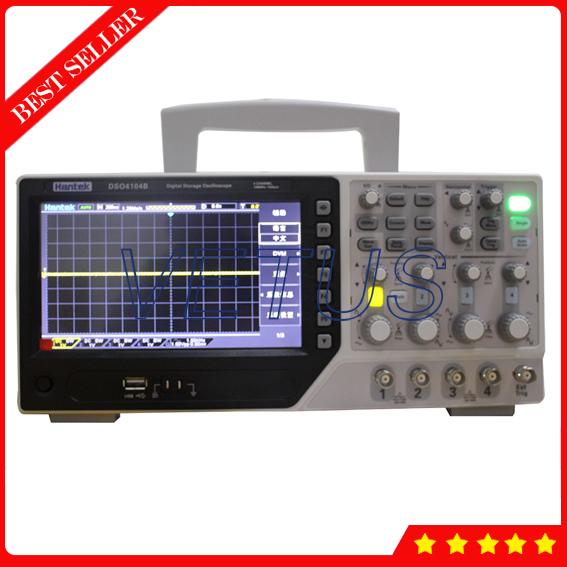 Hantek Brand DSO4104B Bench Type digital Oscilloscope Automotive with 100MHz 4 Channels 64k USB scopemeter