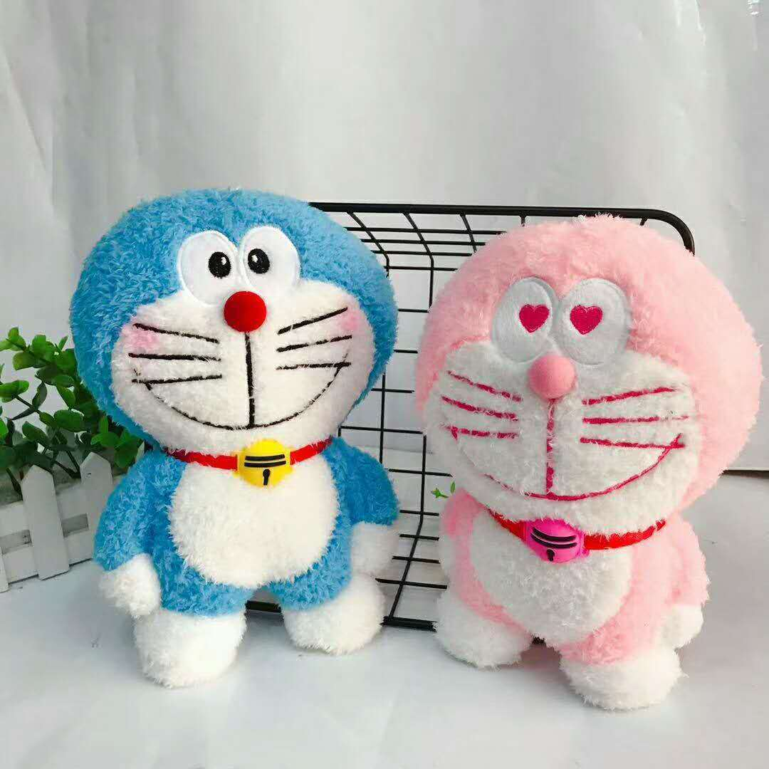 Hot Anime 20cm Doraemon Plush Toys Cute Cat Doll Soft Stuffed Animals Pillow Baby Toy For Kid Girl Doraemon Figure Birthday Gift