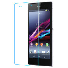 zero.26mm Premium Tempered Glass For Sony Xperia Z1 L39H C6906 C6903 Display Protector Explosion Display Protecting Movie For Sony Z1