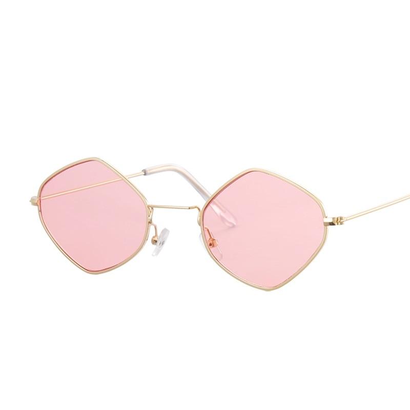 Green black gold Sunglasses Pink gold Purple Gray Oculos Brand Red Luxury Glasses gold Sun Gafas Designer Women Deep Gold Yellow For Blue Fashion Cool Retro Square gold Female gold ATwqFfFn