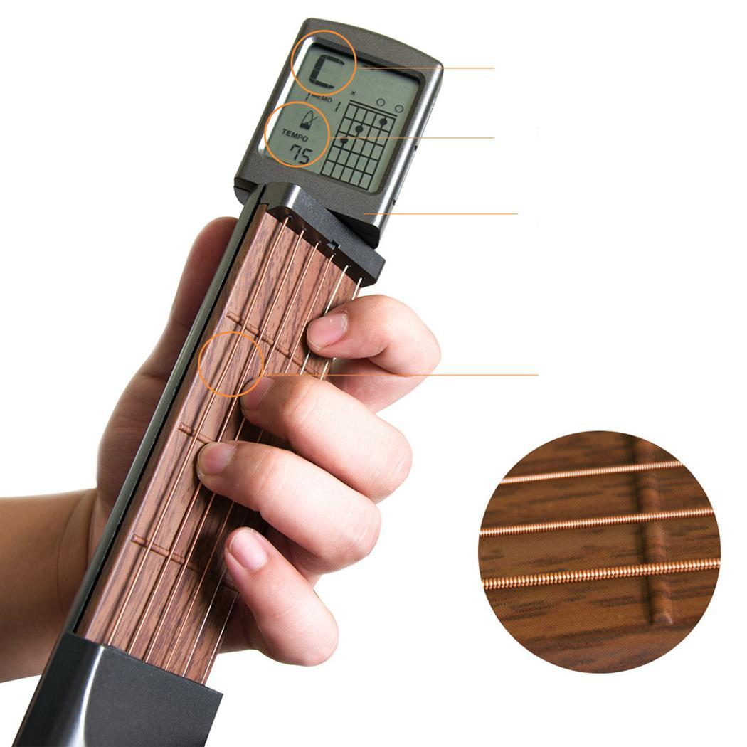 Portable Practical Guitar Trainer Finger Guitar Part trainer Practice Tool