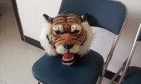 Творческий моделирование головы тигра модель игрушки полиэтилена и меха голова тигра куклы подарок около 30x30x30 см 277