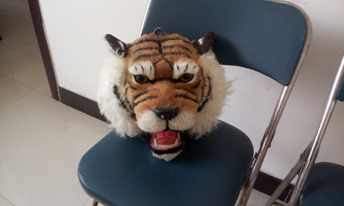 creative simulation tiger head model toy polyethylene & furs tiger head doll gift about 30x30x30CM 277 shivaki sch 364be suh 364be