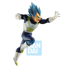 SSJ Figura Vegeta Banpresto Dragon Ball Super Z-BATTLE Tronzo Original Azul PVC Action Figure Modelo Brinquedos DBZ Overseas Limited(China)