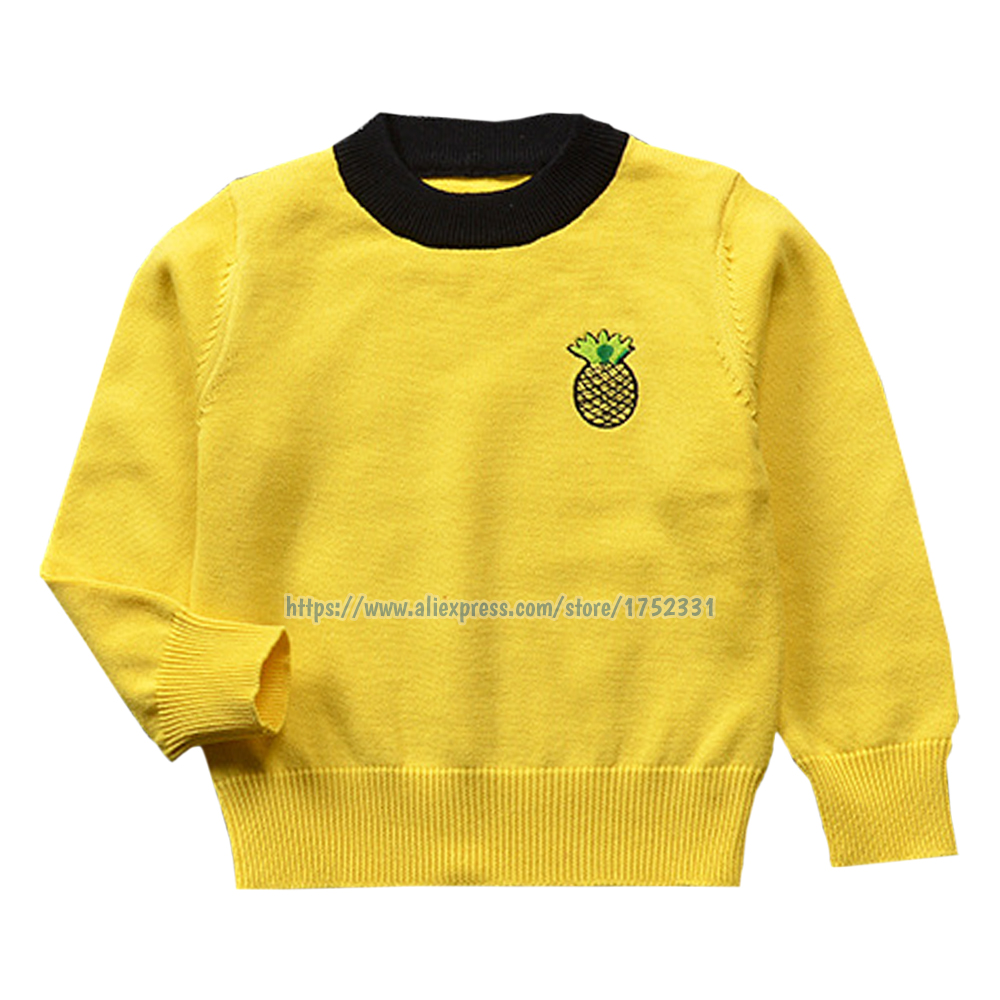 QUIKGROW-Infant-Baby-Sweaters-BlackPinkWhiteYellow-Fruit-Applique-Long-Sleeve-Baby-Boy-Girl-Spring-Autumn-Pullover-YM21MY-2