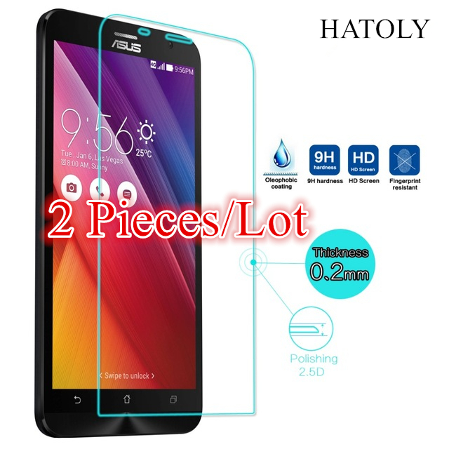 Glass Asus Zenfone 2 ZE551ML Tempered Glass For Asus Zenfone 2 ZE551ML Screen Protector For Zenfone 2 ZE550ML Glass Thin Film ^