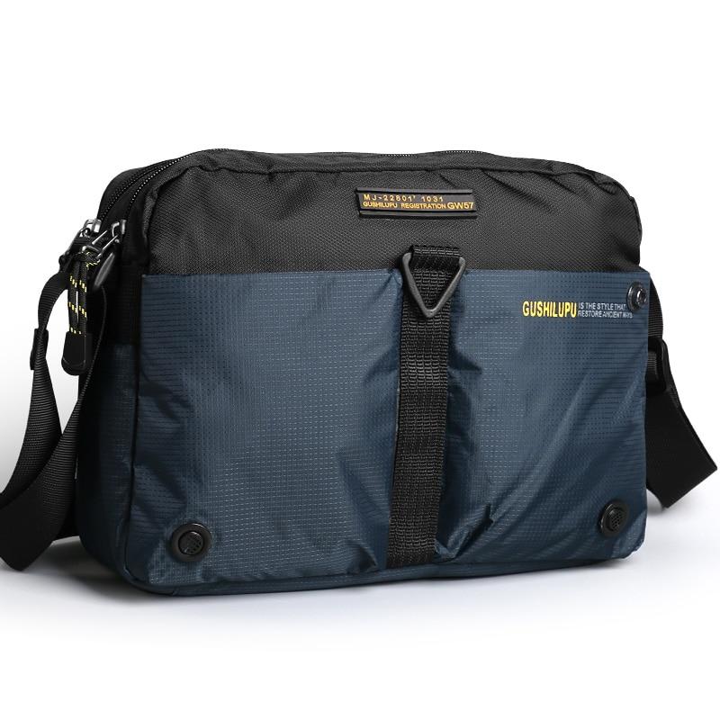 2019 new waterproof Oxford cloth diagonal men's bag multi color shoulder men bags