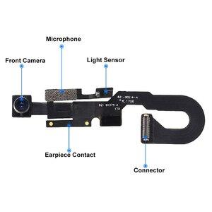 Image 3 - 2 ピース/セット iphone 7 7 プラス 8 8 プラス防水ステッカー + フロントカメラに直面センサー近接光とマイクフレックスケーブル