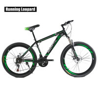 Mountain Bike MTB Bicycle 26 Inch 21Speed Dual Disc Brakes Adult Men And Women Shift Student