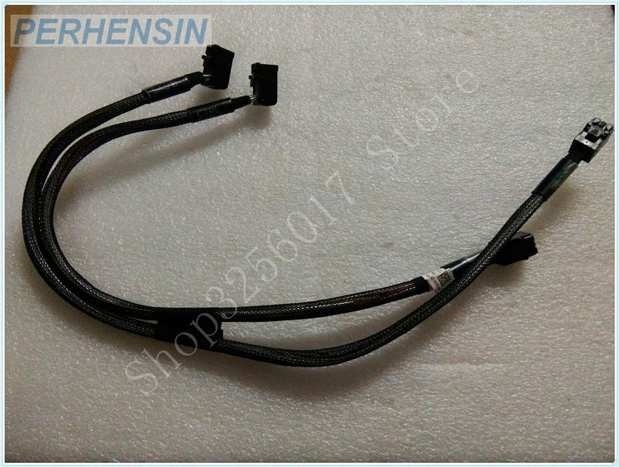 FOR DELL FOR POWEREDGE T630 8 BAY PERC H330 H730 H730P SAS /DUAL HD SFF-8087 CABLE H3Y5T 0H3Y5T кабель для сервера dell sas connector external cable 2м 470 11676r 470 11676r