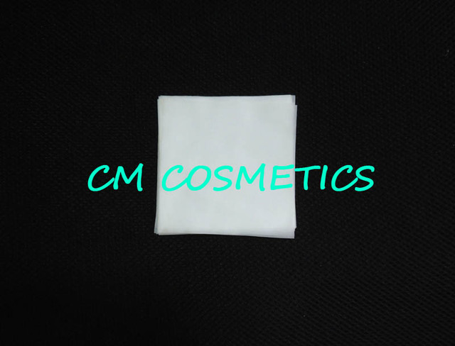 Compact powder or eyeshadow fabric pressed close for pressed mold