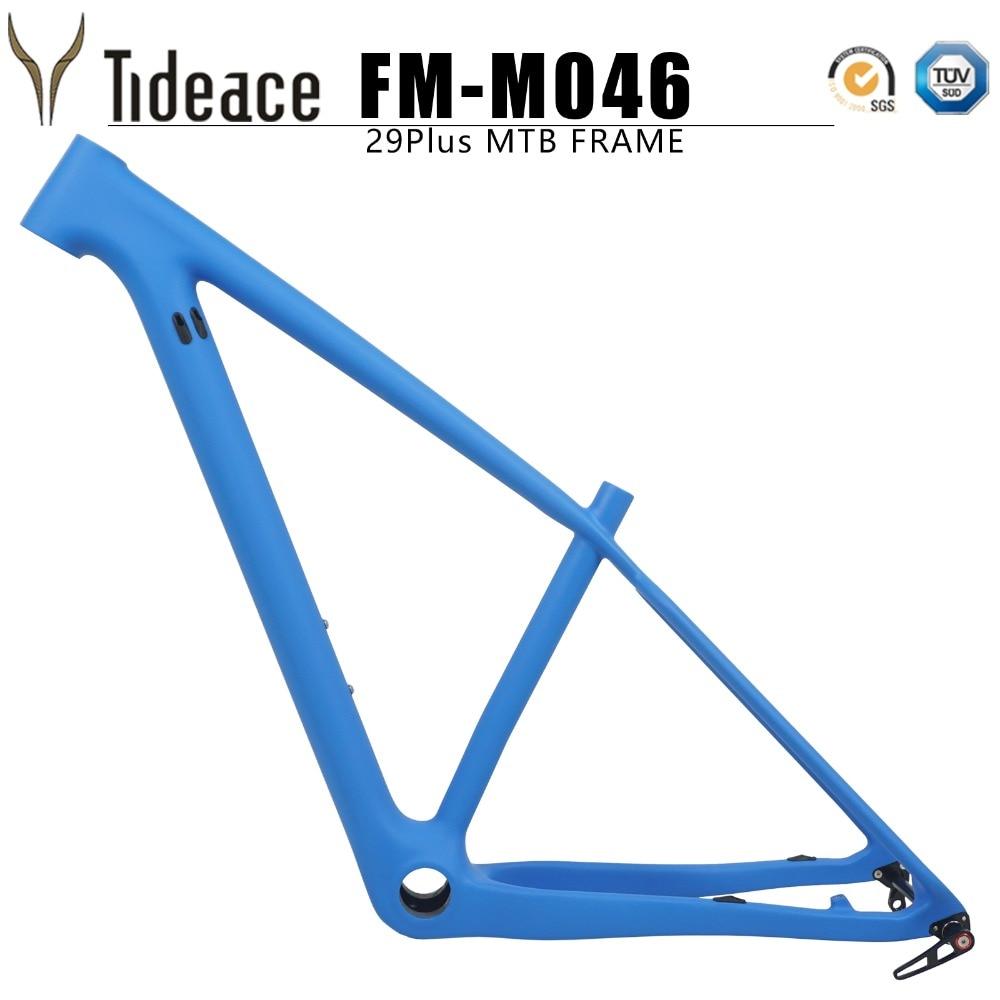 Tideace 2018 29er BOOST frame 148*12mm Full Carbon rigid MTB Frame carbon fiber Mountain Bike Frame Bicycle Parts майка классическая printio retro fire and blood