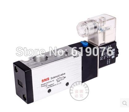 Two five-way solenoid valve 4 v310-10 pneumatic components AC220V / AC110V / DC12V / DC24V sdpc pneumatic components two five way