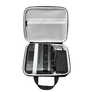Image 5 - Bolsa de almacenamiento protectora de viaje con cremallera, funda EVA para Canon SELPHY CP1200 y CP1300, compacta, inalámbrica