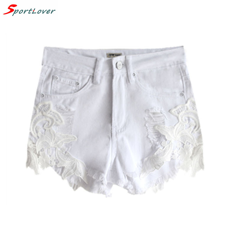Popular White Jeans Shorts-Buy Cheap White Jeans Shorts lots from