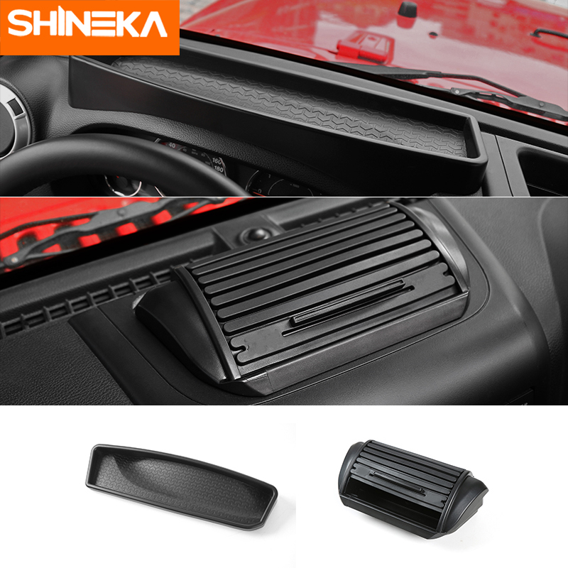 Jeep Wrangler Accessories 2017 >> Us 15 07 33 Off Stowing Tidying For Jeep Wrangler Jk 2012 2017 Front Dashboard Storage Box Organizer Case For Jeep Jk Wrangler Accessories In