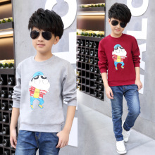 2016 new children s clothing font b men b font Tong Chunqiu paragraph long sleeved T