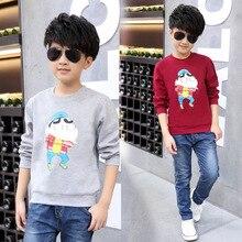 2016 new children's clothing men Tong Chunqiu paragraph long-sleeved T-shirt sweater bottoming shirt