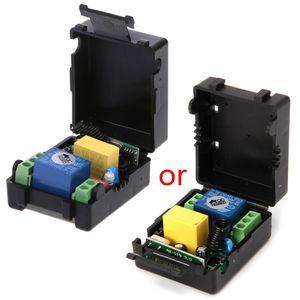 Image 4 - AC 220V 10A 1CH RF 315MHz אלחוטי שלט רחוק מתג מקלט מודול + משדר ערכת הבית חכמות