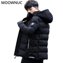 Parkas Jackets Men Coats Parka Winter Clothes Thicked Youth Fashion Smart Casual Male Keep warm 4XL Icebear Hombre MOOWNUC MWC