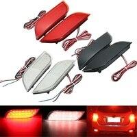 2x26 בלם בלימה זנב LED האחורי הפגוש רפלקטור נהיגה אור הפיכת סובארו/Impreza/XV/WRX/LEVORG/Crossover/Exiga
