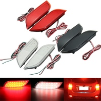 2x 26 LED Rear Bumper Reflector Tail Brake Stop Driving Turning Light For Subaru Impreza XV