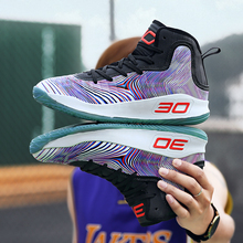 924a7d8bc9d8 Zenvbnv Stephen Curry Basketball Shoes High Top Training Ankle Boots  Outdoor Men