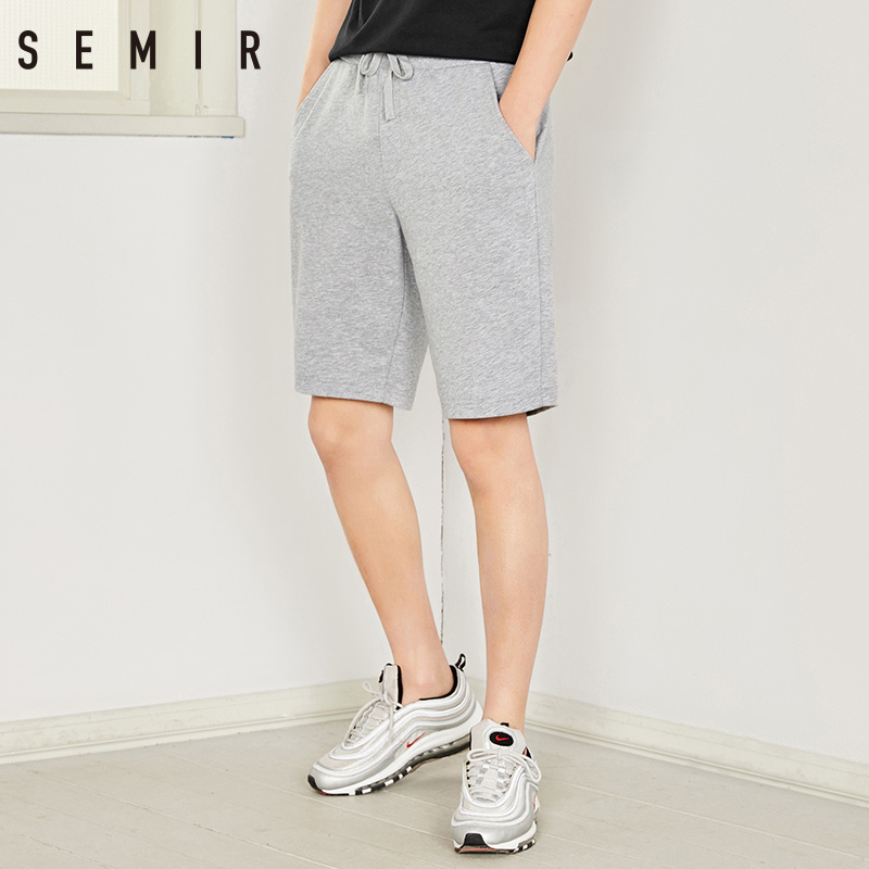 SEMIR joggers man Shorts summer 2018 Knee Length Short leisure men tide brand hip hop Shorts trousers
