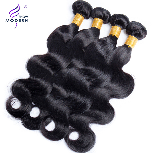 Aliexpress buy modern show hair malaysian body wave human modern show hair malaysian body wave human hair bundles hair weave non remy hair extensions 1pcs pmusecretfo Image collections