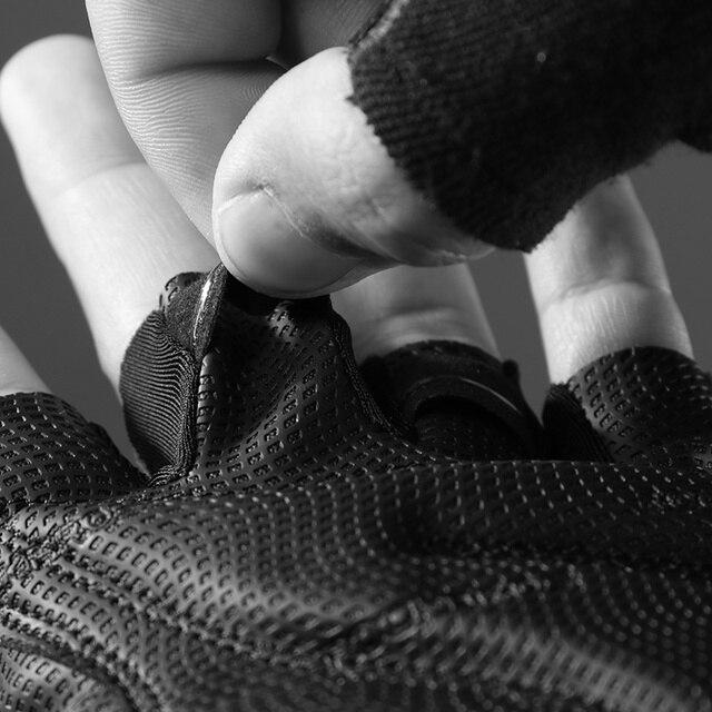 Rockbros ciclismo luvas da bicicleta metade do dedo à prova de choque respirável mtb mountain bike luvas esportivas das mulheres dos homens equipamento ciclismo 5