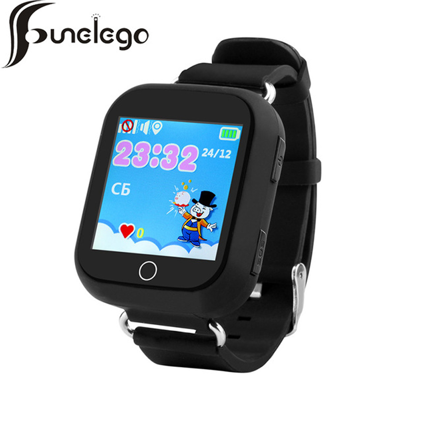 Funelego Smart Baby GPS Watch With Wifi Positioning 1.54 Inch Touch Screen SOS Tracker Safe Anti-Lost Kids Q54 Children Watches smart baby watch q60 детские часы с gps розовые