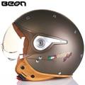BEON helmets motorcycle helmet half-face Harley helmets prince helmet electric restoring ancient ways men and women BEON110-A