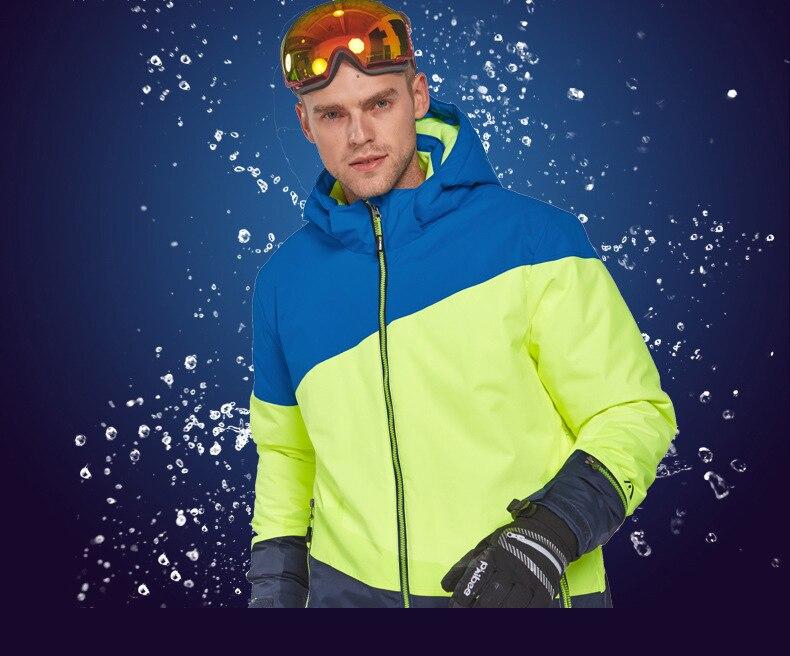 2019 Homens Snowboard Jaqueta de Esqui No
