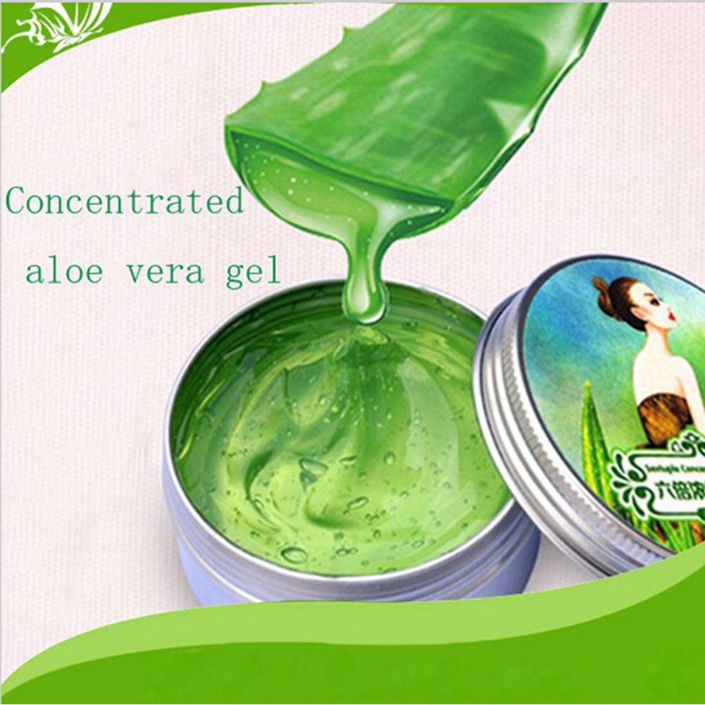 Natural Sixfold Concentrated Aloe Vera Gel Cream Perfect Remove Acne Whitening Oil Control Moisturizing Face Skin Care #1204