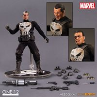 MEZCO the PUNISHER 1:12 COLLECTIVE Action Figure Toys