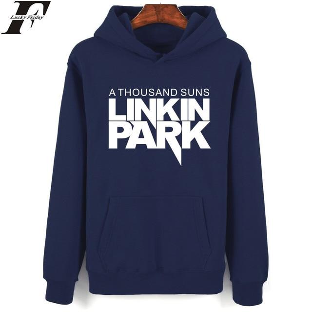 Luckyfridayf Felpa Musicale Linkin Banda Suns Thousand Park Hoodie A gIwqzrg