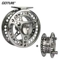 Goture Brand Disc Drag System Precise CNC Mechine Cut Coil Fly Fishing Reel 3 4 5