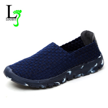 Women Casual Shoes 2020 Summer Handmade Woven Shoes Best Quality Breathable Fashion Comfortable Women Flats Shoes Female Loafers