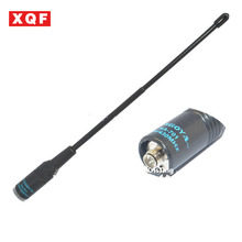 Buy XQF 10*New  NA-701 SMA-Famale High Gain Super High Quality Telescopic Antenna for Baofeng UV-5R 888S B5 B6 Two way radio