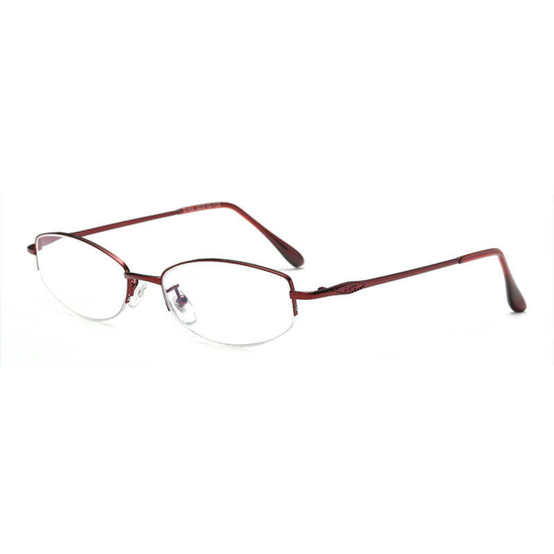 169 Metal Alloy Frame Anti Blue Ray Computer Screen Protection Reading Eyeglasses Frame 1 0 1 5 2 0 2 5 3 0 3 5 4 0 in Women 39 s Reading Glasses from Apparel Accessories