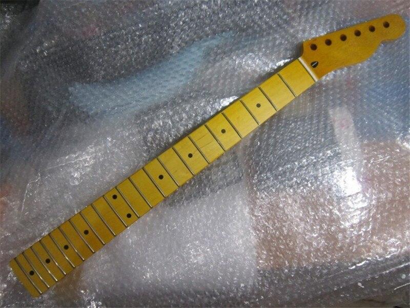 De calidad superior 21 Fret inlay dots Canadiense arce Cuello de la Guitarra Elé