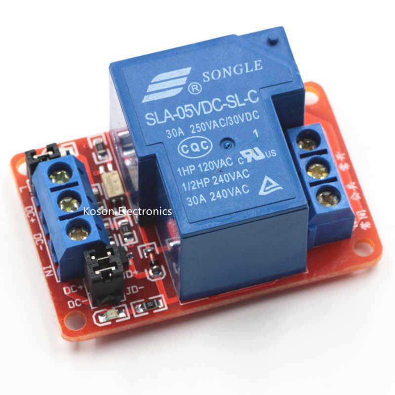 1//2//4 Kanal Module Board With Optokoppler H//L Level Triger 30A 5V-24V L1SA