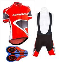 2017 orbea pro team Summer cycling jersys bib shorts 9d gel shirts Bike maillot ropa ciclismo clothing mountain sportwear K5