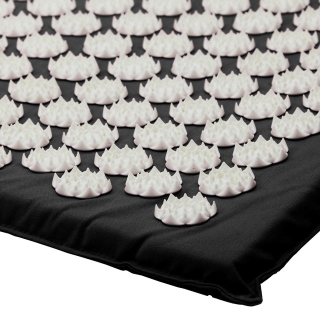 Acupressure Mat And Pillow Set For Back/Neck Pain Relief And Muscle Relaxation