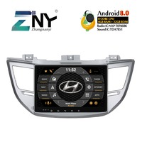 4GB 10.1 IPS Display Android 8.0 Car Stereo For Hyundai Tucson IX35 2015 2016 2017 Radio FM GPS Navigation Backup Camera No DVD