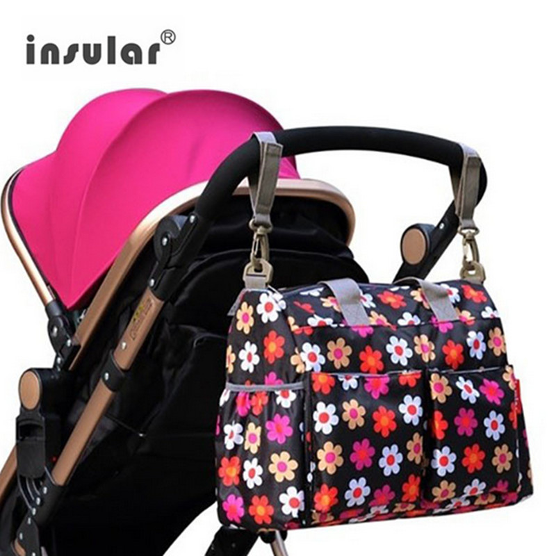 Insular Fashion Parm Diaper Bag Travel Mommy Nappy Bags Bolsa Maternidade Maternity Baby Stroller Bag for Mom Mochila Infantil aimababy 2017 new pu designer baby diaper nappy changing mummy maternity bag organizer bags for mom backpack bolsa maternidade