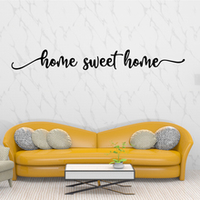 Quote Home Sweet Vinyl Removable Wall Sticker Decor For Living Room Decoration Door Decals Stickers Murals