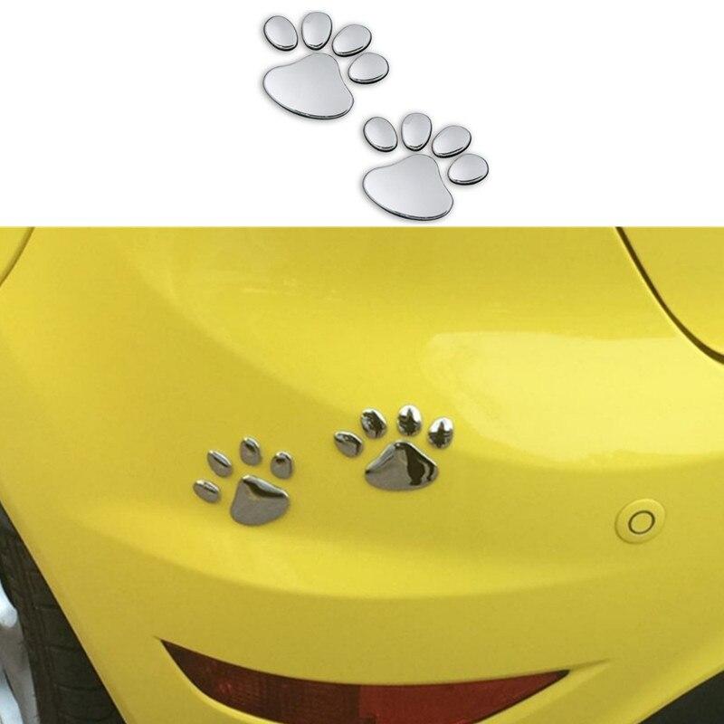 1 Paar Auto Aufkleber Pet Tier Pfote Fußabdrücke Auto Lkw Decor Für Lexus Rx300 Rx330 Rx350 Is250 Lx570 Is200 Is300 Ls400 Ct Ds Lx Waren Des TäGlichen Bedarfs