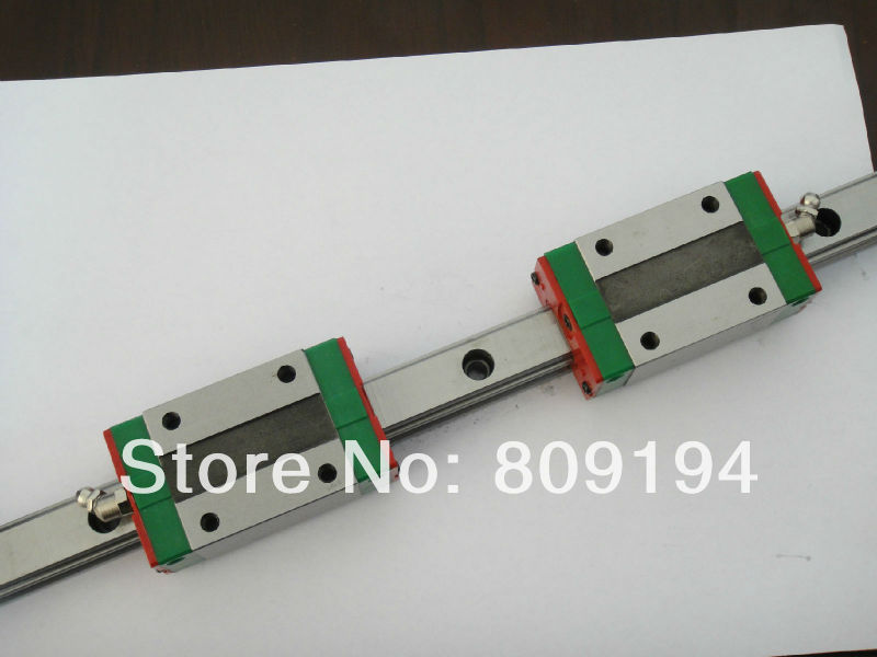 HIWIN MGNR 550mm HIWIN MGR12 linear guide rail from taiwan hiwin linear guide rail hgr15 from taiwan to 1000mm